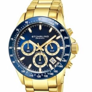 Stuhrling Original Turisma Gold Watch
